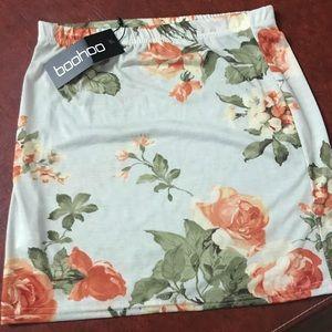 New Floral Skirt